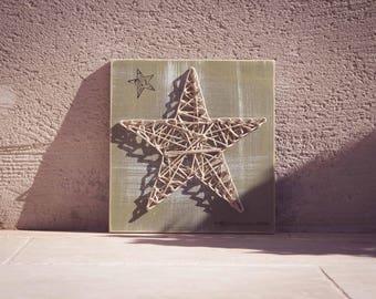 Woven star setting
