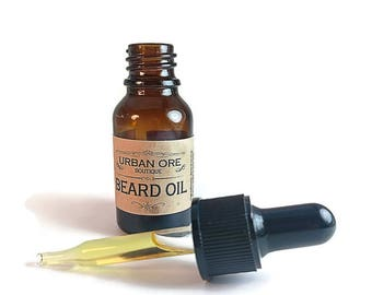 Natural Beard Oil with Essential Oils(1/2 ounce)