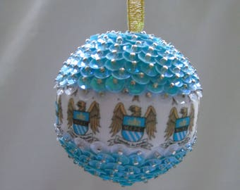 Manchester City Football Bauble