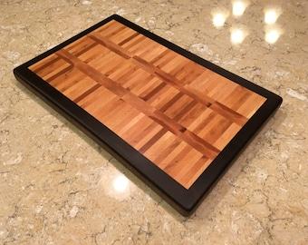 Maple and Walnut Endgrain Cutting Board Butcher Block
