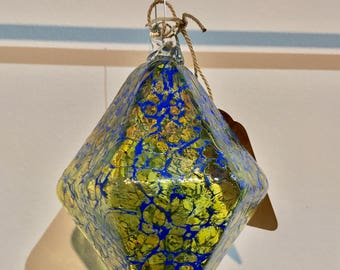 Yellow & Blue Ornament