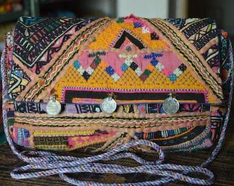 Clutch Bag Indian Vintage Banjara Patchwork Tribal Bohemian Purse Stylish Gypsy BB07