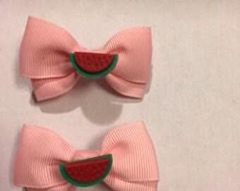 Watermelon Barrets