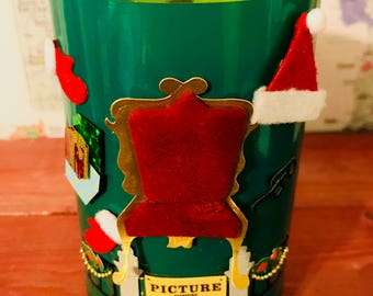 Pics with Santa Christmas Candle  Hand-Poured Soy Wax Candle