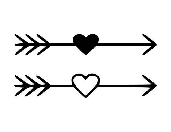 Heart Arrow SVG Heart Arrow Cut Files SVG Studio Studio3