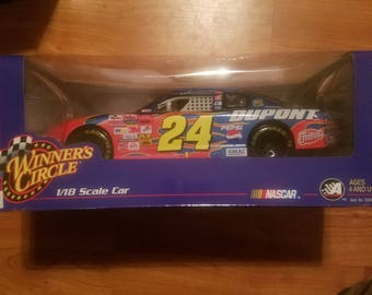 1:18 scale Jeff Gordon car Winners circle
