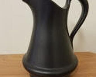 black pitcher marked  Royal Haeger RG166 USA.