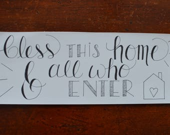 Frame-able- Home Blessing