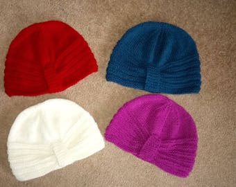 Ladies Chemo / winter knitted  hats
