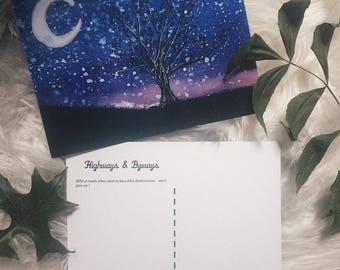 Moonlight Escape postcard