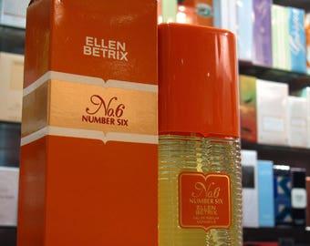 N.6 Number Six - Ellen Betrix Eau de Parfum 100ml Edp Spray