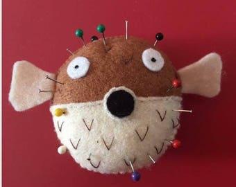 Pufferfish Pin Cushion