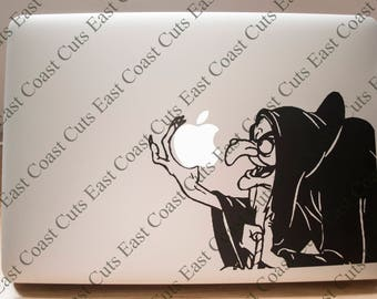 Disney Evil Queen Snow White Laptop Decal SVG/DXF/PNG