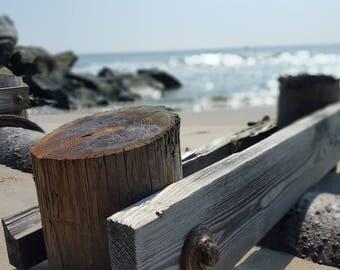 Quiet Beach at Noon