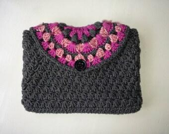 Grey/Pink bag M/L