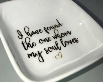 I Have Found The One | Ring Dish