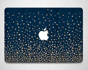 2017 macbook pro 15 dark blue skin macbook air gold sparkle vynil macbook decal golden night skin pro 13 A1706 MacBook Pro skin macbook