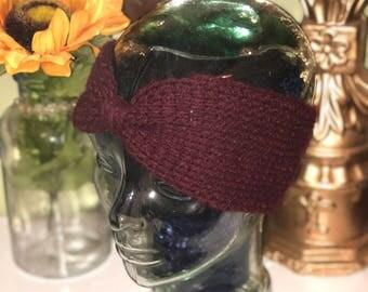 Burgundy Headband