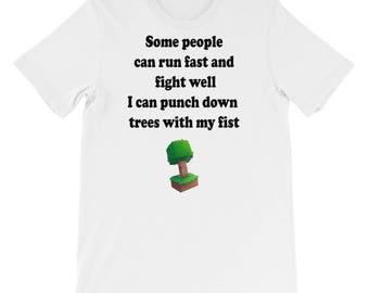 Funny Minecraft Short-Sleeve Unisex T-Shirt