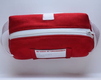 Insulated Medical Bag for allergies (EpiPens, epinephrine, antihistamines), asthma (inhalers), and other medical needs or emergencies