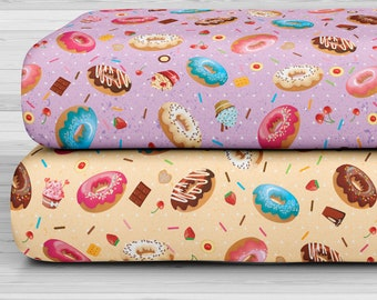 27x17 Felt Sheets - Candy Shop Collection - Donuts Double Kit - Pack of 4