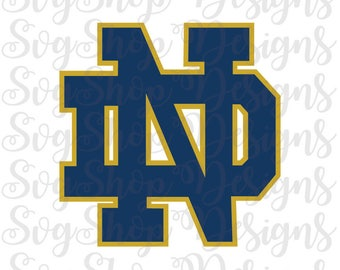 Notre Dame Logo Etsy