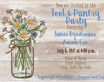 Wedding Shower/Party Invitation