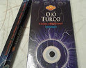 Incense Turkish Eye SAC 120 Rods/6 for 20 Uni