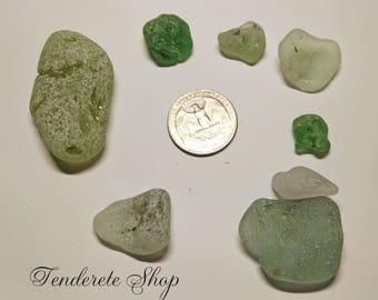 Sea Glass Bonfire (Set 3- 8 pc) - Sea Glass Bonfire - mixed colors
