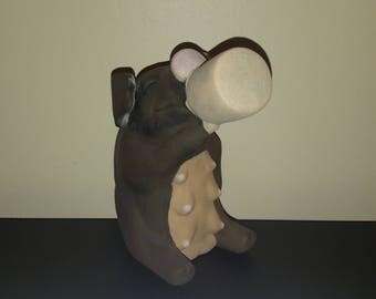 Ceramic drinking pig