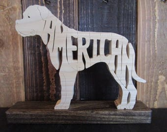 American Bulldog Shelf Sitter