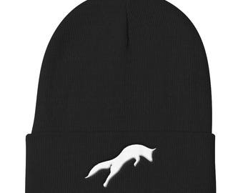 Unisex PREMIMU FOX  Knit Beanie Knit Cap with multi Colour Variations