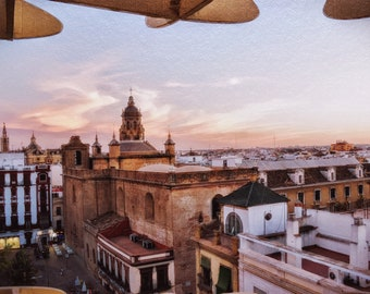 Seville Photography, Spain Photography, Europe Photo, Travel Photography, Wall Art, Home Decor, Skyline, Photography Prints
