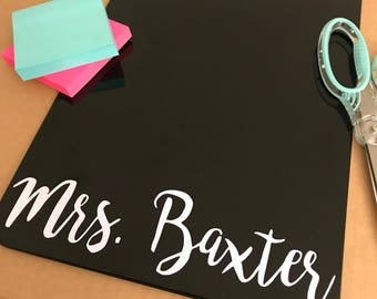 Personalized Clipboard - custom clipboard, teacher appreciation, nurse clipboard, teacher clipboard, desk accessory, personalized gift, gift