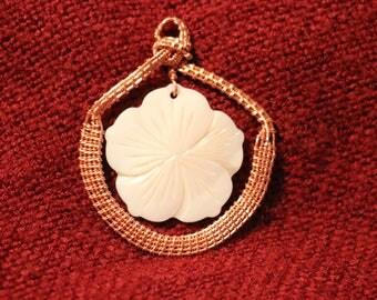 Basket of Flowers pendant