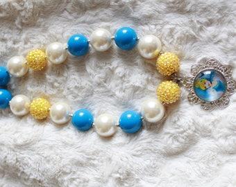 Chunky Bubblegum necklace