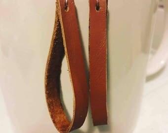 Genuine leather Boho earrings