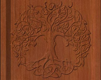 Family Name and Celtic Tree of Life Sign