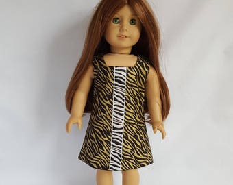 "Dress fits 18"" dolls such as American Girl"