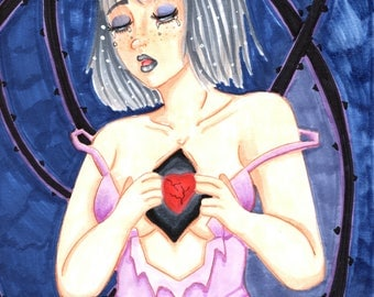 Broken Hearted (Large 8x10 Print)