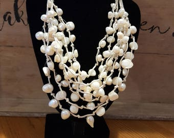 Stunning handmade statement necklace