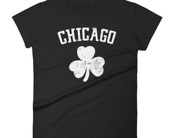 Chicago Shamrock St. Patrick's Day Tshirt
