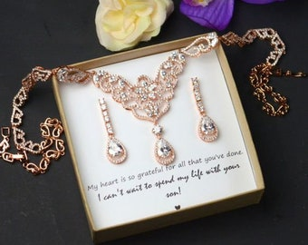Mother of the Groom Gift, Mother of the Bride Gift, Mother in law Gift, Wedding Gift,Tree of Life,Mother of the groom necklace Inspirational