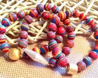 Amazing Rainbow Jasper Bracelets