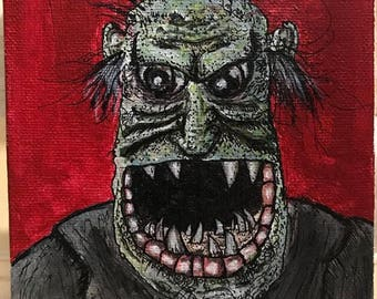 Monster on Canvas