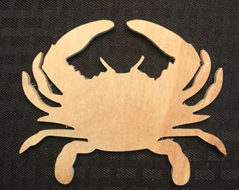 Personalized Maryland Crab Ornament/Magnet/Coaster