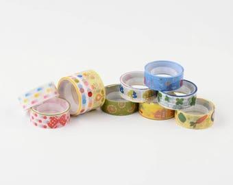 BULK - Mixed 10 pack Adhesivei Tape - 15mm x 5 Meters each