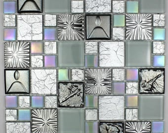 Shower Cenovo glass mosaic