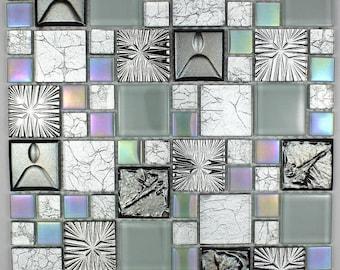 Shower Cenovo glass mosaic