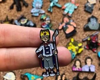 King Bob Recess Custom Enamel Pin, Pin, Pins, Pin Game, Pin Set, Custom Pins, Limited Edition Pin, Hat Pin, Cartoon pin, Recess, TV Pin
